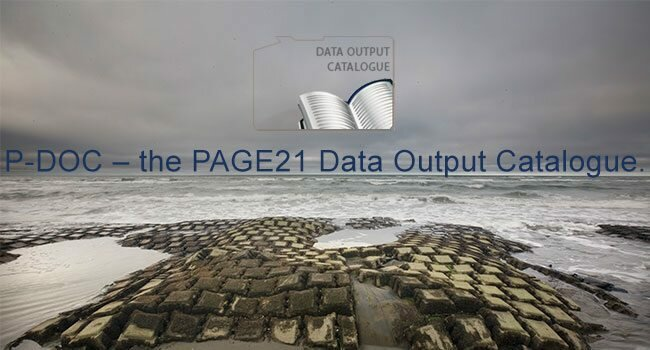 Data Output Catalogue